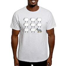 auscattle_herding_blk T-Shirt