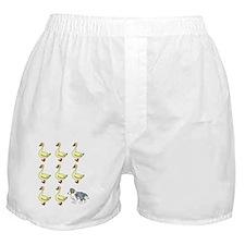 sheltie_herding_blk Boxer Shorts