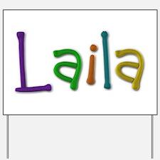 Laila Play Clay Yard Sign