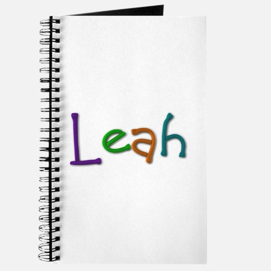 Leah Play Clay Journal