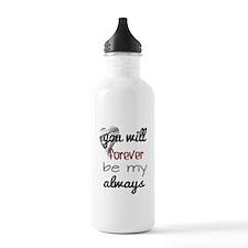 Forever Always (heart) Water Bottle