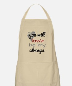 Forever Always (heart) Apron