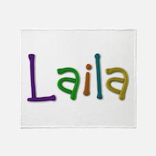 Laila Play Clay Throw Blanket