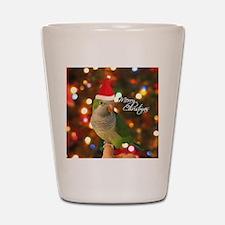 quaker_santa_ornament2 Shot Glass