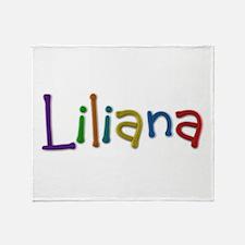 Liliana Play Clay Throw Blanket