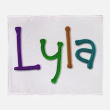 Lyla Play Clay Throw Blanket