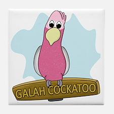 galahcockatoo Tile Coaster