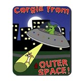 Alien abduction Classic Mousepad