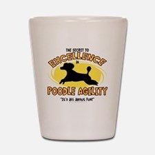 poodle_excellence Shot Glass