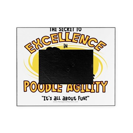 poodle_excellence Picture Frame