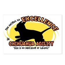 chihuahua_excellence_oval Postcards (Package of 8)