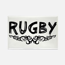 Cute Rugby Rectangle Magnet