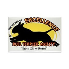 bullterrier_excellence_oval Rectangle Magnet