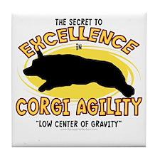 corgi_excellence Tile Coaster