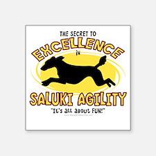 """saluki_excellence Square Sticker 3"""" x 3"""""""