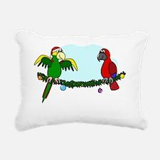 boughsofpolly_blk Rectangular Canvas Pillow