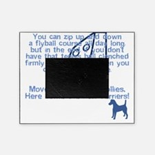 herecomethe_smoothfox_blk Picture Frame