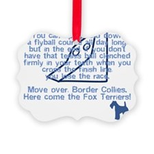 herecomethe_wirefox_blk Ornament