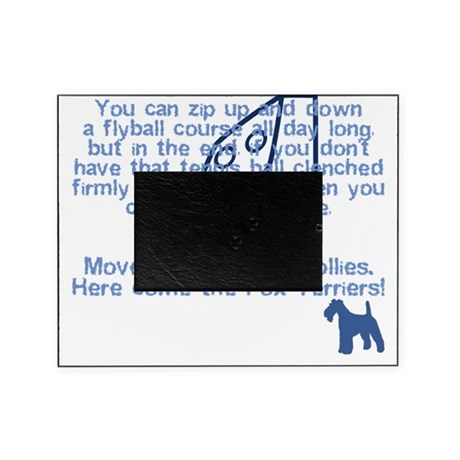 herecomethe_wirefox_blk Picture Frame