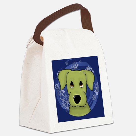 yellowlab_ornament Canvas Lunch Bag
