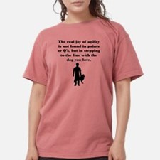 Cute Agility Womens Comfort Colors Shirt