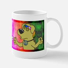 hippie_yellowlab_bumper Mug
