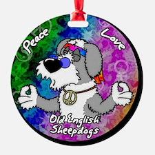 hippie_oes_ornament Ornament
