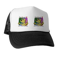 hippie_yellowlab_mug Trucker Hat