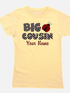 Big Cousin Ladybug Girl's Tee