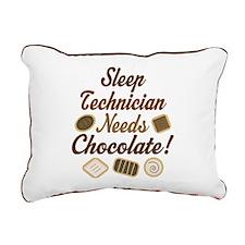Sleep Technician Rectangular Canvas Pillow