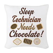 Sleep Technician Woven Throw Pillow