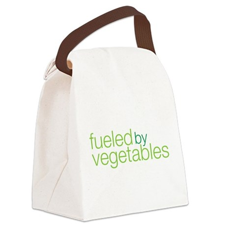 fueled by vegetables Canvas Lunch Bag
