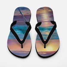 ocean embrace Flip Flops