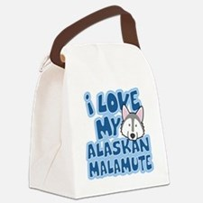 alaskanmalamute_animelove Canvas Lunch Bag