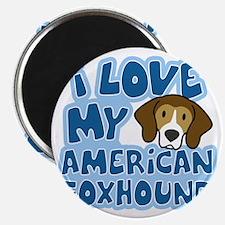 americanfoxhound_animelove Magnet