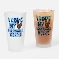 auskelpie_animelove Drinking Glass