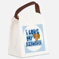 azawakh_animelove_ornament Canvas Lunch Bag
