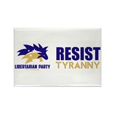 Resist Tyranny Rectangle Magnet (10 pack)