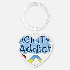 agilityaddict Heart Keychain