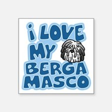 "bergamasco_animelove Square Sticker 3"" x 3"""