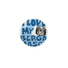 bergamasco_animelove_ornament Mini Button