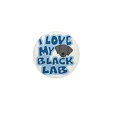 blacklab_animelove Mini Button