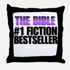 The Bible #1 Fiction Bestsell Throw Pillow