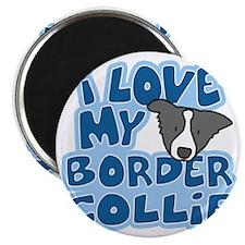 bordercollie_blk_animelove Magnet