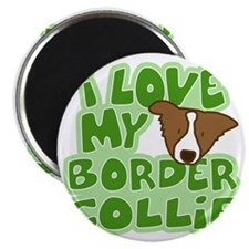 bordercollie_brn_animelove Magnet