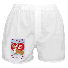 corgi-bee-vdaycard Boxer Shorts