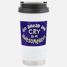 awesomeness_oval Travel Mug