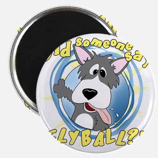 flyball-crazy Magnet