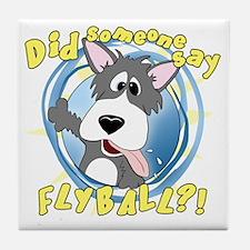 flyball-crazy Tile Coaster