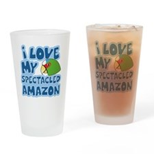 animelove_whitefronted Drinking Glass